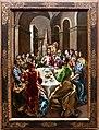El greco, la festa in casa di simone, 1608-14, 01.jpg