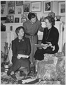 Eleanor Roosevelt, Malvina Thompson, and Edith Helm in Washington, Washington, D.C - NARA - 197190.tif