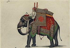 William Fraser (British India civil servant) - A folio from Fraser Album, ca 1815-1819