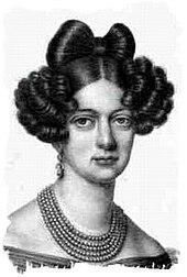 Prinzessin Elisabeth Alexandrine von Württemberg, um 1820 (Quelle: Wikimedia)