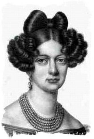 Duchess Elisabeth Alexandrine of Württemberg - Elisabeth, aged 18.