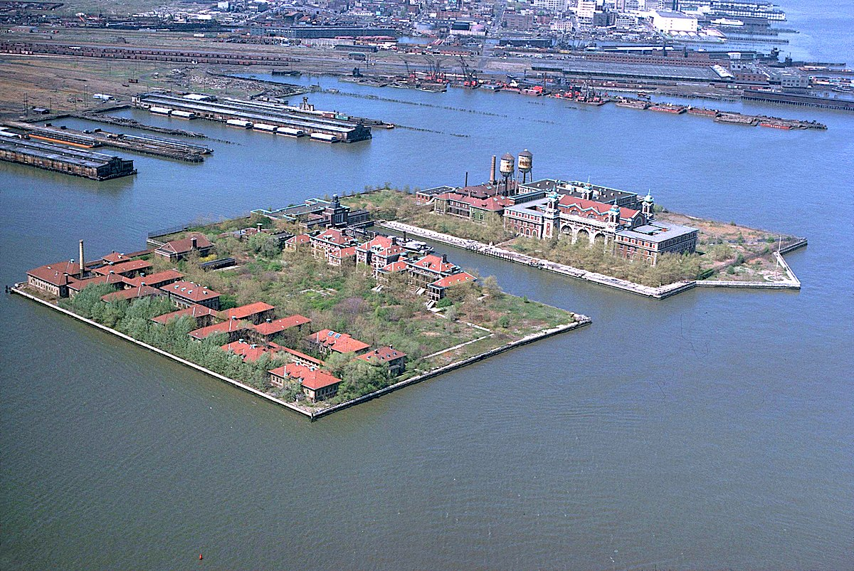 Ellis Island Immigration Station New York