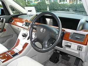 Honda Elysion - Image: Elysion Prestigeinterior