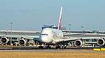 Emirates A380-861 (A6-EOI) taxiing at Prague Ruzyně Airport.jpg