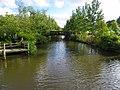 """En av Lisebergs broar är lik en av Monets broar i """"Målarens trädgård"""". Denna går över Mölndalsån - panoramio.jpg"""