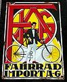 Enamel advertising sign, Fahrrad Import A-G.JPG