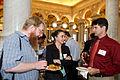 Enjoying Wikimania 2012 Google Opening Reception.jpg