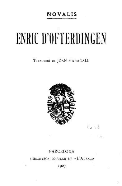 File:Enric d'Ofterdingen (1907).djvu