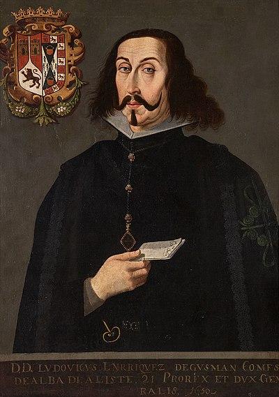 Retrato de Luis Enríquez de Guzmán.