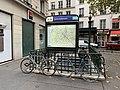 Entrée Station Métro St Ambroise Paris 9.jpg