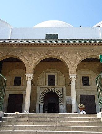 Sidi Mahrez Mosque - Image: Entrée de le mosquée