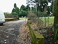 Entrance to Clubhouse and sports ground, Old Damson Lane - geograph.org.uk - 1769420.jpg
