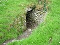 Entrance to North Passage Dowth Megalithic Tomb - geograph.org.uk - 491359.jpg