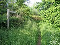 Entrance to bridleway, Sutton-Potton, Beds - geograph.org.uk - 188143.jpg