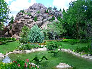 Canada Pavilion at Epcot - Gardens at the Canada Pavilion