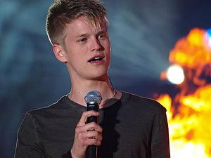 Idol 2009 (Sweden) - Image: Erik Grönwall