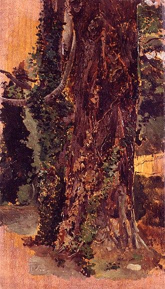 Emilio Sala (painter) - Image: Esbós de paisatge, Emili Sala Francés, Museu de Belles Arts de València