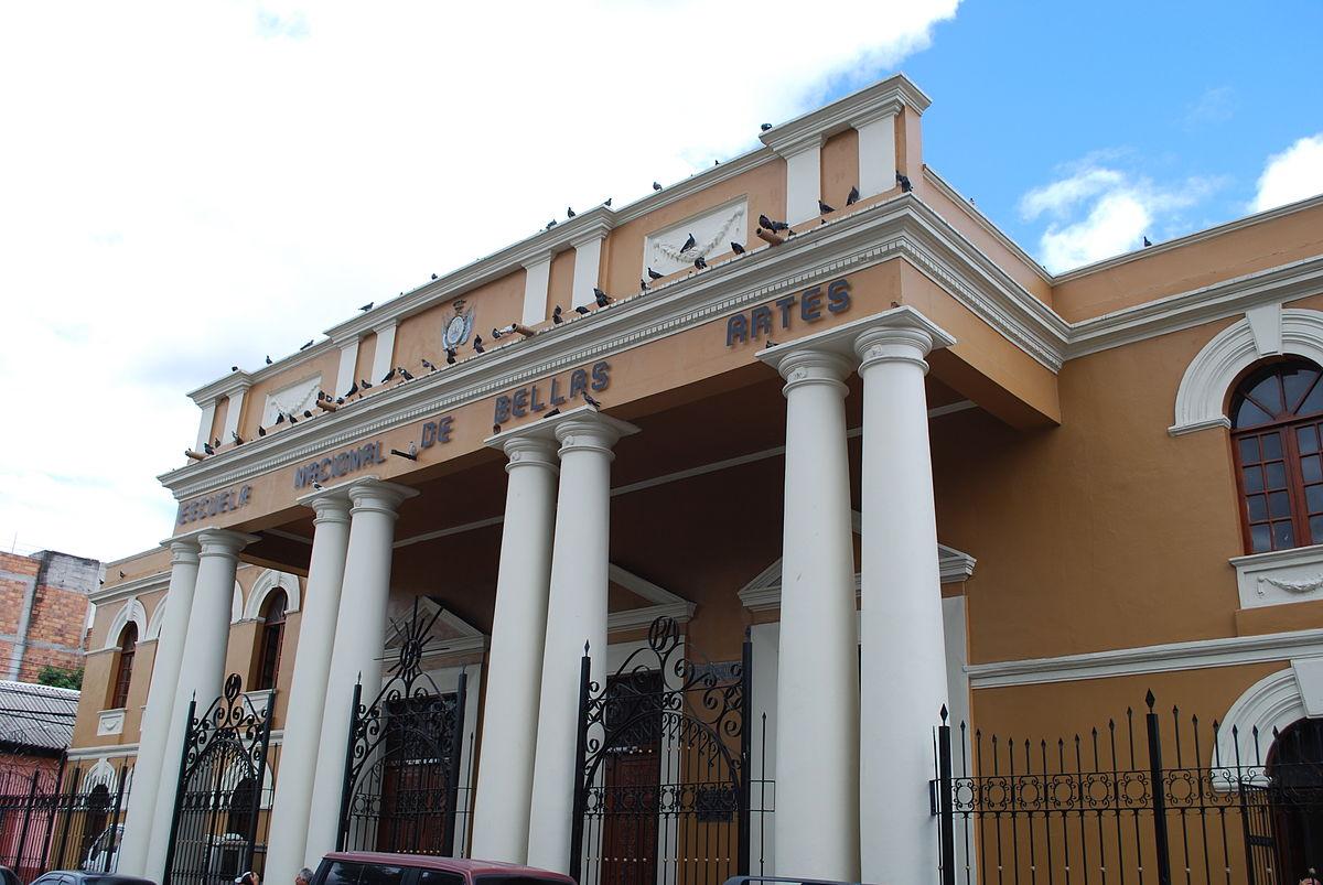 Escuela nacional de bellas artes honduras wikipedia for Universidad de arte
