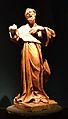 Escultura de sant Francesc d'Assís, Museu Arqueològic d'Alacant.JPG