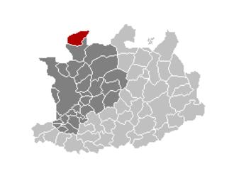 Essen, Belgium - Image: Essen Locatie