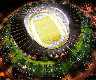 Belém - Estádio Olímpico do Pará in Belém.