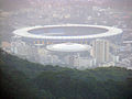 Estádio do Maracanã from mountain.jpg