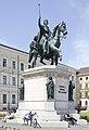 Estatua de Luis I de Baviera, Múnich, Alemania, 2012-04-30, DD 01.JPG