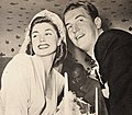 Esther Williams with her husband Ben Gage, 1945.jpg