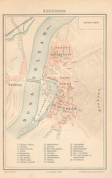 esztergom hajóállomás térkép Esztergom városrészei – Wikipédia esztergom hajóállomás térkép