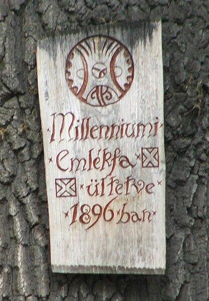Fájl:Esztergom Millenniumi emlékfa.JPG