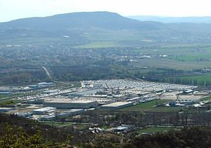 Automotive industry in Hungary - Magyar Suzuki in Esztergom, Hungary, had over 6,300 employees as of 2007