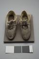 Ett par skor kronprins Gustav 1805 - Livrustkammaren - 86712.tif