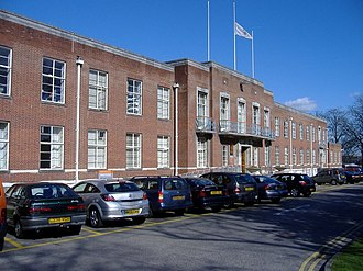 Swindon Borough Council - Image: Euclid street civic offices swindon