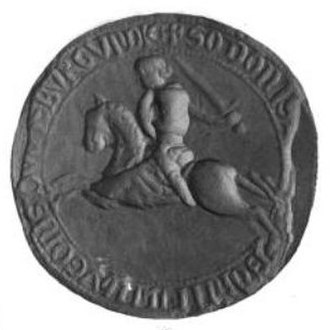 Odo, Count of Nevers - Seal of Odo of Nevers