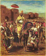 Porträt des Sultans von Marokko