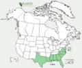 Eupatorium mohrii US-dist-map.png