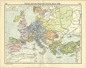 Gentry - Europe and the Byzantine Empire AD 1000