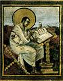 Evangeli dell'incoronazione (evangelista Matteo), Vienna, Kunsthistorisches Museum, 25,10x32,30 cm, inizio IX secolo.jpg