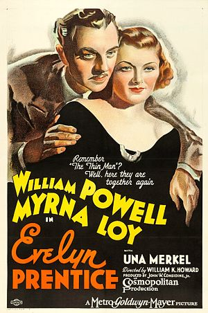 Evelyn Prentice - theatrical release poster