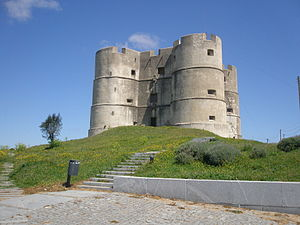 Castles in Portugal - Evoramonte Castle.