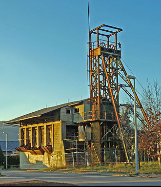 Melsbach - Winding tower of Melsbach