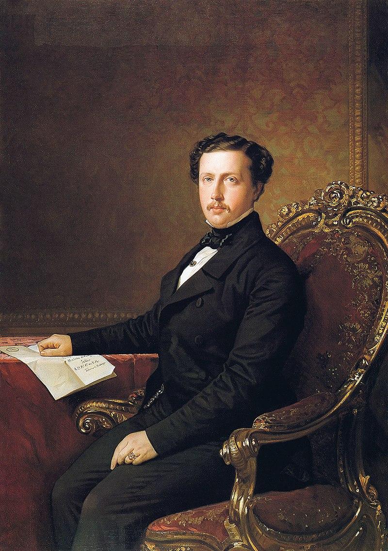 Ф. де Мадрасо - 1852, Эль-Рей-Франциско де Асис, Vestido de Paisano (Королевский дворец, 142 x 101 см) .jpg