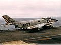 F3H-2M of VF-61 on USS Saratoga (CVA-60) 1957.jpg