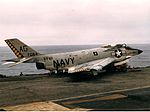 F3H-2M of VF-61 on USS Saratoga (CVA-60) 1957.jpg