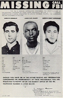 FBI Poster of Missing Civil Rights Workers.jpg