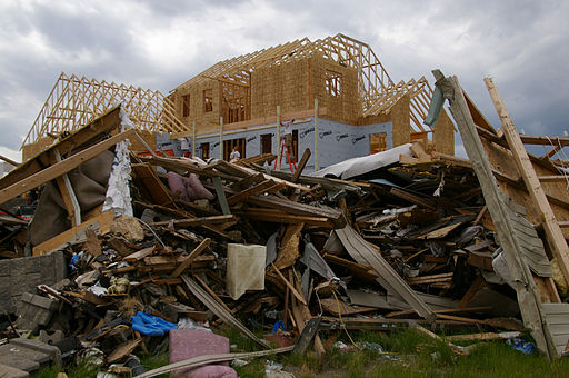 FEMA - 37551 - Rebuilding a home in Iowa
