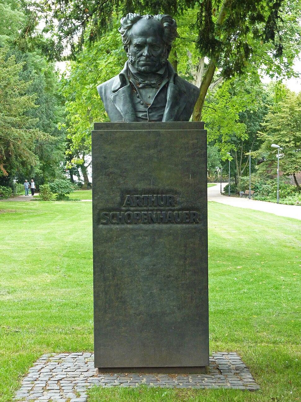 FFM Wallanlagen Schopenhauer-Denkmal
