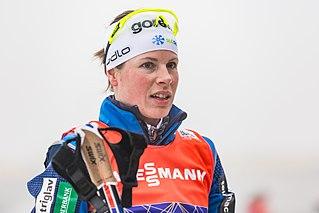 Vesna Fabjan Slovenian cross-country skier