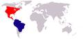 Falkennachtschwalbe (chordeiles minor) world.png