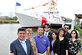 Family of William Flores at the dedication ceremony for the USCGC William Flores -- 120302-G-ZX620-026.jpg